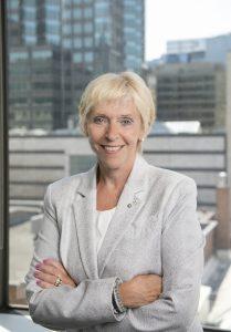 Françoise Bertrand, présidente du conseil d'administration de Proaction International